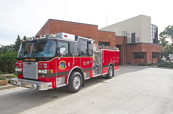 CONTINUED SERVICES Measure A-20, a parcel tax to fund Oceano's end of the Five Cities Fire Authority memorandum of agreement, will go before voters on March 3. - FILE PHOTO BY JAYSON MELLOM