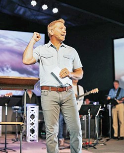 RESIGNED Mountainbrook Church's lead pastor, Thom O'Leary, resigned after a hired investigator found allegations of inappropriate behavior valid. - PHOTO COURTESY OF MOUNTAINBROOK CHURCH INSTAGRAM