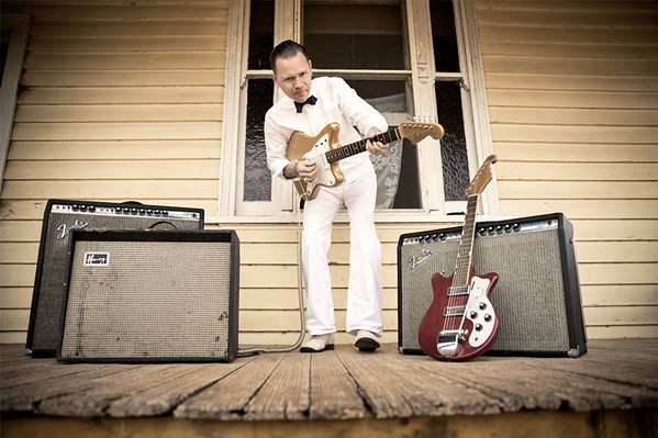KING HOKUM Australian C.W. Stoneking brings his American roots and pre-war blues sounds to The Siren on Feb. 17. - PHOTO COURTESY OF C.W. STONEKING