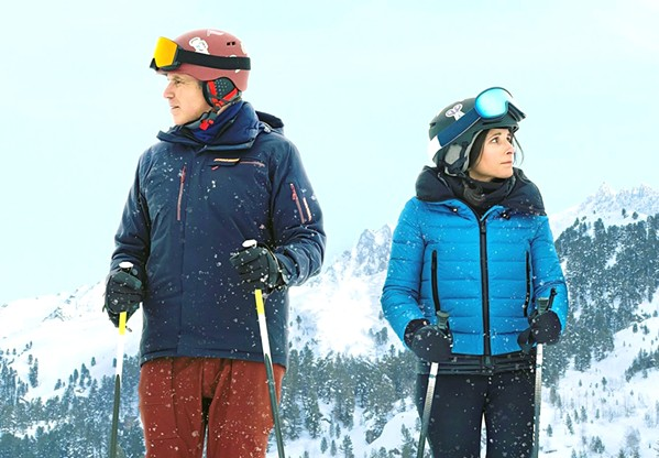 SNOW JOB The comedy-drama Downhill follows married couple Billie (Julia Louis-Dreyfus) and Pete (Will Ferrell), who are forced to re-examine their relationship after the very different ways they reacted to an avalanche. - PHOTO COURTESY OF SEARCHLIGHT PICTURES