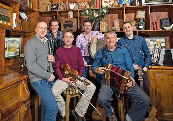 THE CELTIC WAY Traditional Irish band Téada plays a SLOfolks show at Castoro Cellars this Feb. 22. - PHOTO COURTESY OF TÉADA