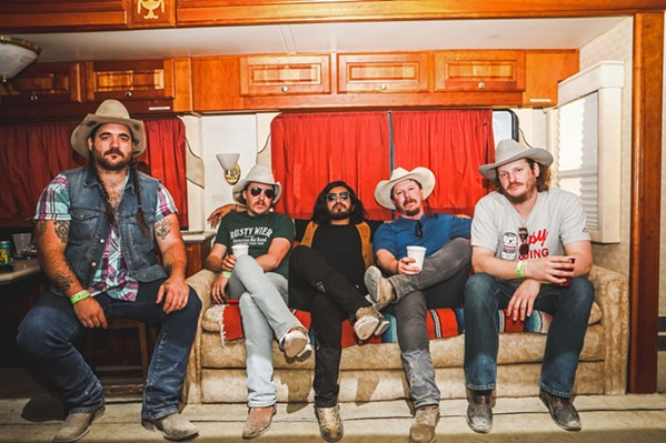 TEXAS STYLE Mike and the Moonpies return to The Siren on Feb. 26. - PHOTO COURTESY OF MIKE AND THE MOONPIES