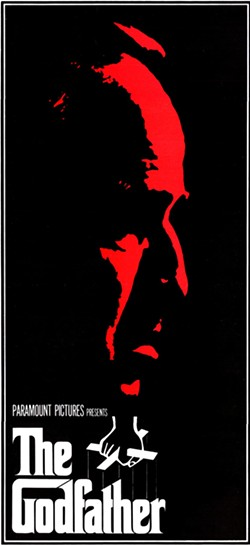 ICONIC POSTERS The Godfather, one of the most viewed films of all time, was released in 1972 and is one of the movies that Strodder features in Volume One of his book. - IMAGES COURTESY OF CHRIS STRODDER