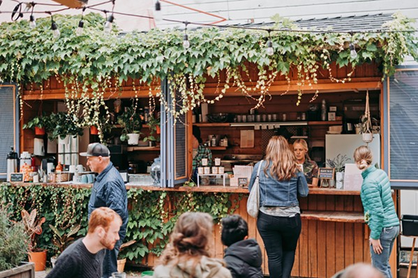 SAY HOWDY The Hidden Kitchen is the kind of place where you walk up and order, sit down and chill—with probably the friendliest vibe around Cambria. - PHOTO COURTESY OF THE HIDDEN KITCHEN