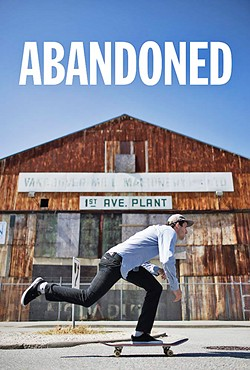 EXPLORING EMPTY SPACES In this Viceland series, professional skateboarder and videographer Rick McCrank explores abandoned locations throughout North America. - PHOTO COURTESY VICELAND