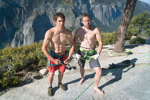 THE FASTEST? In The Nose Speed Record, one of three films screening during Reel Rock 14 on Feb. 28 in the Fremont Theater, Tommy Caldwell and Alex Honnold compete to climb Yosemite the fastest. - PHOTO COURTESY OF REEL ROCK 14