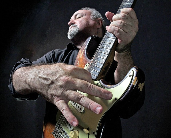 GUITAR WIZ Alligator Records recording artist Tinsley Ellis plays the SLO Brew Rock on March 4, delivering ripping blues-rock. - PHOTO COURTESY OF TINSLEY ELLIS