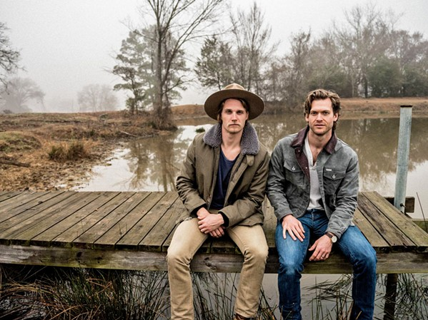 BROTHERS BY OTHER MOTHERS Zach Chance and Jonathan Clay of Jamestown Revival play BarrelHouse Brewing on March 7. - PHOTO COURTESY OF JAMESTOWN REVIVAL