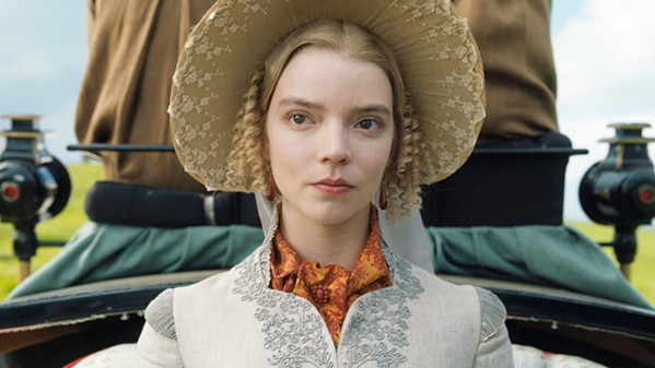 HUBRIS Emma Woodhouse, a selfish but well-meaning 20-year-old, spends her days trying to facilitate romantic matches, in Emma, the seventh film adaptation of Jane Austen's 1816 novel. - PHOTO COURTESY OF PERFECT WORLD PICTURES