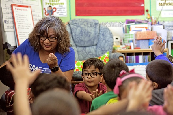VOTING NO If passed, California Proposition 13 would allow the state to funnel $15 billion into public school and college facility improvement projects. As of the morning of March 4, things weren't looking good for the bond. - FILE PHOTO BY SPENCER COLE