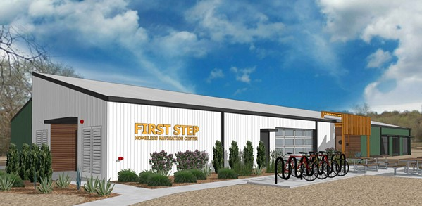 HOMELESS SERVICES The city of Paso Robles is breaking ground on the site of its first homeless shelter, First Step Homeless Services Center, scheduled to open in June 2021. - PHOTO COURTESY OF THE EL CAMINO HOMELESS ORGANIZATION