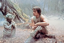 HELP YOU, HE WILL Yoda (voiced by Frank Oz) shows Luke Skywalker (Mark Hamill) the ways of The Force to prepare him for his showdown with Darth Vader, in Star Wars: Episode V—The Empire Strikes Back. - PHOTO COURTESY OF LUCASFILM
