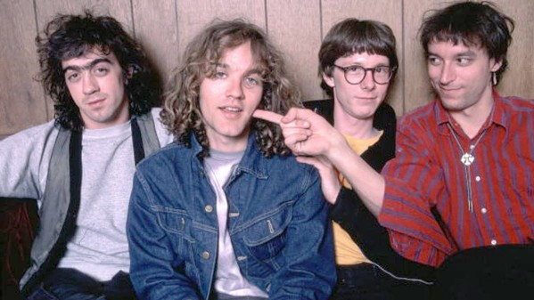 """1987 Thanks to COVID-19, R.E.M.'s song """"It's the End of the World as We Know It (And I Feel Fine)"""" is back on the charts. - PHOTO COURTESY OF R.E.M."""