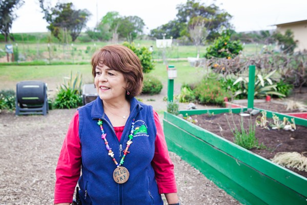 LOCAL EFFORTS Celeste Royer is the director of Environmental Education for the SLO County Office of Education and has been the program director for Rancho El Chorro for 31 years. - PHOTO BY JAYSON MELLOM