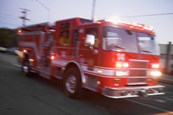 EXPOSED: Santa Barbara County firefighters who assisted a woman displaying COVID-19 symptoms have been placed in quarantine. - STOCK PHOTO