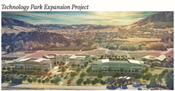 INNOVATION Cal Poly is planning to expand its Technology Park, which is designed to encourage and facilitate innovation in an interdisciplinary environment that brings together students, faculty, and business. - IMAGE COURTESY OF CAL POLY
