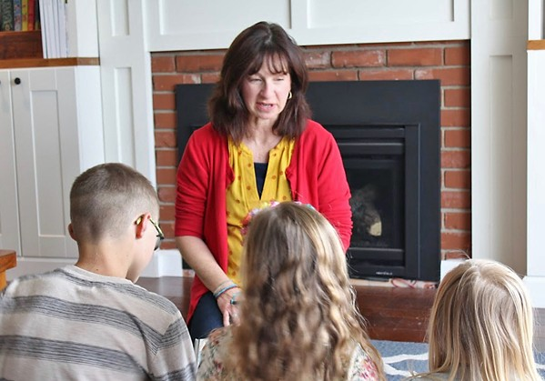 TOUGH TALKS Local preschool teacher Mona Smith created a guide to help parents navigate how to talk to their children about the current pandemic. - PHOTO COURTESY OF MICHAEL SMITH
