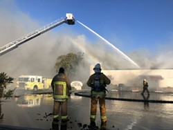 SAFETY FIRST The city of Santa Maria expects to take a large hit from loss of tax revenue associated with COVID-19 closures and tax deferrals. Safety services, such as the city's fire department, might see the greatest impact. - FILE PHOTO BY JOE PAYNE