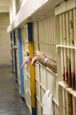ZERO BAIL About 60 inmates at the SLO County jail were deemed eligible for zero bail release under a recent state order meant to reduce jail populations during COVID-19. - FILE PHOTO BY JAYSON MELLOM