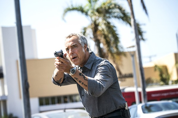RELENTLESS LAPD homicide detective Harry Bosch will do whatever it takes to find the truth, even if that means ignoring procedures and his superiors' orders, in the gripping TV series Bosch. - PHOTO COURTESY OF AMAZON STUDIOS