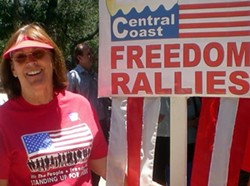 RALLYING TO REOPEN: Dianne Howes, pictured, is part of a group of Santa Maria residents organizing a rally to reopen businesses in California amid the COVID-19 pandemic. - PHOTO COURTESY OF FACEBOOK