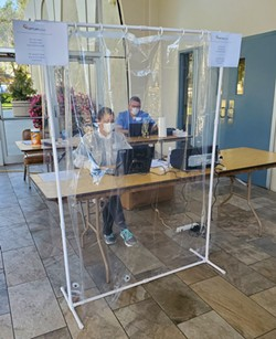 NEW CAPABILITIES: A new community based testing site opened in Santa Maria on May 5, the first of three that will be available in the county by the end of the week. - PHOTO COURTESY OF SANTA BARBARA COUNTY JOINT INFORMATION CENTER