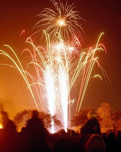 NOT SO LIT Santa Maria, Pismo Beach, and Cayucos all recently announced plans to cancel their July 4 fireworks shows due to COVID-19. - FILE PHOTO