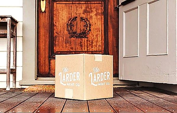 DIRECT DELIVERY Larder Meat Co. delivers a subscription box of meat from California ranchers to your home. - PHOTO COURTESY OF LARDER MEAT CO. INSTAGRAM