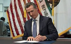 ALL EYES ON NEWSOM Gov. Gavin Newsom is implementing a four-phased reopening plan for California that all counties must follow. - FILE PHOTO