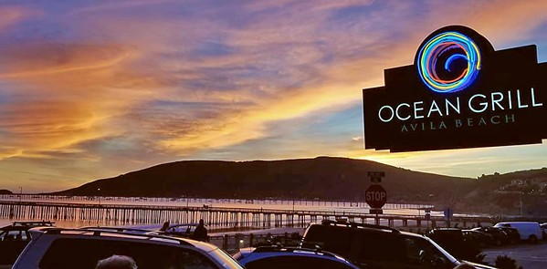 UNCHARTED TERRITORY Though Ocean Grill Avila Beach seemed like an out-of-the way destination at first, it's been hanging in there and open for take-out. Chef Bryan Mathers talks about the unknown future of his dine-in restaurant. - PHOTO COURTESY OF OCEAN GRILL AVILA BEACH