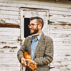 PLAYING FOR ÉCLAIR BAKERY Chris Beland and his daughter, Harmony, will play a livestream concert from the SLO Brew stage on May 31 as part of Together SLO, supporting local businesses. - PHOTO COURTESY OF CHRIS BELAND