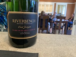 WINE TIME? Wineries in Santa Barbara County are now allowed to open if they can find some way to bring food into the tasting equation, thanks to an emergency rule issued on May 25. - FILE PHOTO BY CAMILLIA LANHAM