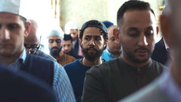 FINDING HIS PLACE Hulu TV series Ramy, starring Ramy Yussef (center), explores what it means to be Muslim in America. - PHOTO COURTESY OF A24