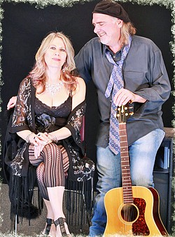 DATE NIGHT AT LADONNA'S Every Thursday night, including July 9 and 16, Sharine & Ron offer an intimate dinner concert at LaDonna's in Atascadero, playing music from the 1930s to the present. - PHOTO COURTESY OF HEIDI EDELMAN