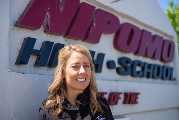 AG EDUCATION Nipomo High School teacher Rosemary Cummings recently earned national recognition for her work in agricultural education at this year's California FFA State Conference. - PHOTO COURTESY OF THE SLO COUNTY FARM BUREAU