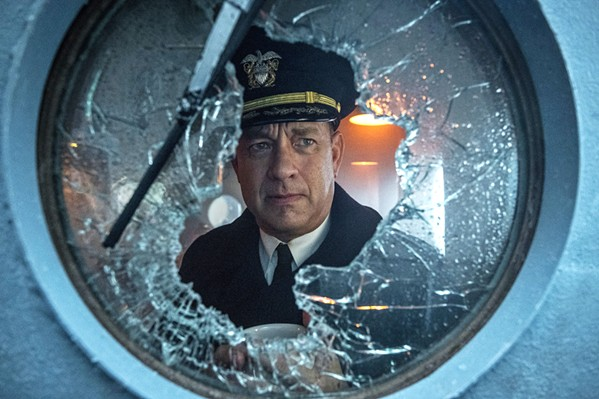 COMMANDER Tom Hanks stars as a World War II destroyer captain accompanying a convoy of supply ships through the U-boat-infested North Atlantic waters, in the new Apple TV film, Greyhound. - PHOTO COURTESY OF SONY PICTURES ENTERTAINMENT