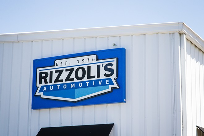 AUTOMATIC Rizzoli's Automotive is the Best Mechanic around, and our readers have said that for years. - PHOTO BY JAYSON MELLOM