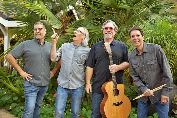 CLASSIC BLUES ROCK Tune in to the Danny Grasseschi Band during Atascadero's first virtual concert in the park on July 25. - PHOTO COURTESY OF THE DANNY GRASSESCHI BAND