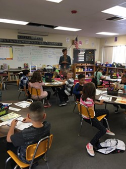 DISTANCED FOR NOW: It may be months until classrooms look like this again—Lompoc Unified School District announced that students in both primary and secondary schools will start the fall with distance learning. - PHOTO COURTESY OF LUSD'S FACEBOOK