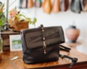 Maven Leather + Design proprietress Emma Thieme offers one-of-a-kind handbags and more