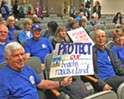 Avila residents protest against development