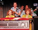 Tap your toes to guitar, piano, and kitchen utensils with the Great American Melodrama's <b><i>Pump Boys and Dinettes</i></b>