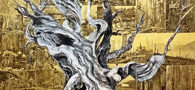 Morro Bay Art Association's latest show Broken Nature taps into pandemic emotions, Earth's destruction, and peaceful reflection