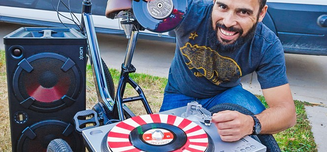 Mobile SoulCycle DJ trike aims to transform SLO's public spaces