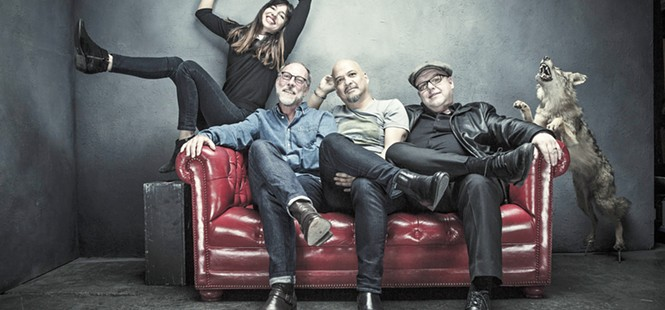 Pixies play songs from Head Carrier at the Fremont Theater on Dec. 12