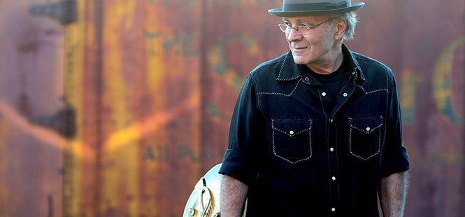 Swamp bluesman Ray Bonneville plays Painted Sky on Jan. 15