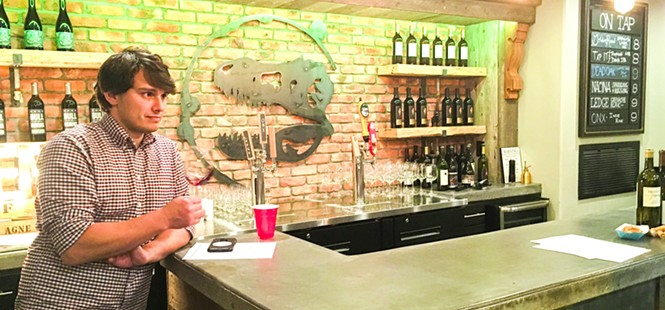 Fossil Wine Bar in Atascadero is where you can find your next favorite wine