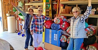 South County Rotary collects sleeping bags for the houseless