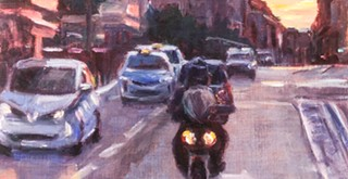 Inside/Outside showcases diverse range of oil and pastel pieces by Central Coast artists Renée Kelleher and Jim TylerCorrection