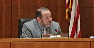 Supervisor Adam Hill scales back duties to address depression